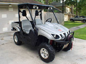 2008 Yamaha Rhino 700FI Sport Edition ATV four wheeler 4