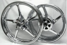 yamaha roadstar custom wheels chrome