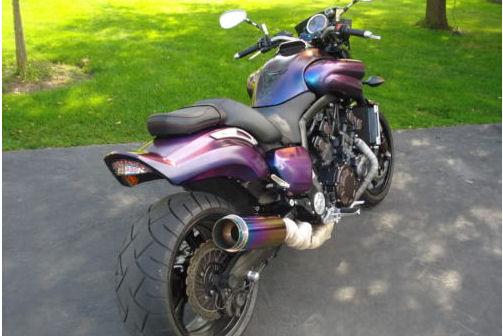 2009 Yamaha V Max VM7 Vmax motorcycle custom