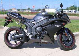 2007 Yamaha YZF-R1 charcoal gray black